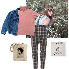 Untitled #73 by kittymaid on Polyvore featuring polyvore fashion style Kenzo Levi's