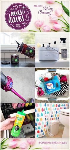 March is here and it's time to start thinking about gearing up for the much anticipated (or the much dreaded) spring cleaning frenzy. In this issue of Mom Must Haves, we are bringing you our tried-and-true product recommendations for cleaning everything in your home from clothes to toilets, in an effort to help get your home in tip-top shape... for all of 5 minutes before life with kids happens!
