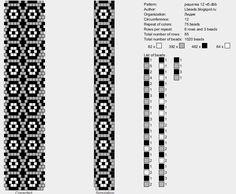 Bead Crochet Pattern, 12 around