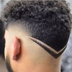 nice Facebook Pinterest TwitterThe V-shaped haircut for men is a beautiful cross betw...