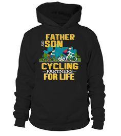 Father And Son Cycling Partners For Life