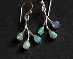 Ethiopian opal earrings  Artisan Opal earrings   by Studio1980