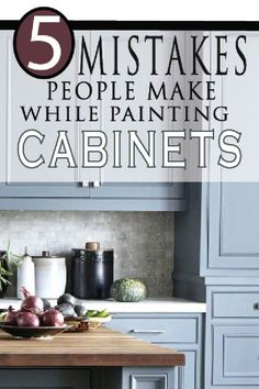Are you ready to tackle the job of painting kitchen cabinets? Learning from othe… Are you ready to tackle the job of painting kitchen cabinets? Diy Kitchen Cabinets, Built In Cabinets, Painting Kitchen Cabinets, Kitchen Paint, Kitchen Furniture, Furniture Ideas, Kitchen Sinks, Kitchen Backsplash, Kitchen Countertops