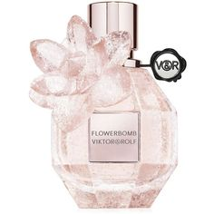 Viktor & Rolf Limited Edition Pink Crystal Flowerbomb Eau de Parfum -... (1 630 ZAR) ❤ liked on Polyvore featuring beauty products, fragrance, no color, flower perfume, flower fragrance, edp perfume, viktor rolf perfume and eau de parfum perfume