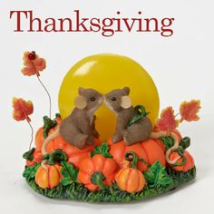 Thanksgiving Charming Tails Artist Dean Griff