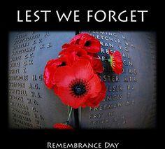 Veterans Day/Rememberance Day