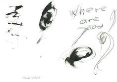 DARTGR0515044 #Eye #WhereAreYou #Black #love #Minimal #DanielaDallavalle #Grafismi #loveistheanswer #ink #sketches #art