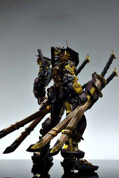 Custom LV Gundam  http://gundamguy.blogspot.sg/2012/06/pg-160-gundam-astray-lv-louis-vuitton_11.html