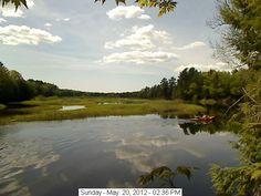 Moose River Webcam - Old Forge,NY.