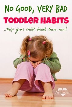 Nine No good, very bad toddler habits, and how to break them. Great parenting tips and advice for moms on positive toddler discipline. Kids And Parenting, Parenting Hacks, Single Parenting, Parenting Plan, Peaceful Parenting, Parenting Quotes, Toddler Behavior, Toddler Discipline, Raising Kids