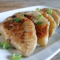 Bacon and Blue Cheese Pierogies with Potato Filling