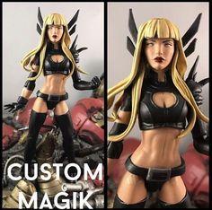 CUSTOM Magik Marvel Legends X-men   Toys & Hobbies, Action Figures, Comic Book Heroes   eBay!