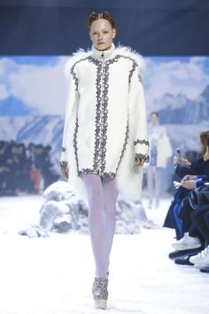 Moncler Gamme Rouge Ready To Wear Fall Winter 2016 Paris