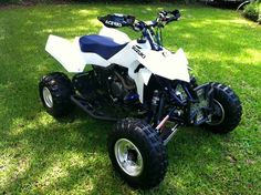 Used 2008 Suzuki QUADRACER LT-R 450 ATVs For Sale in Florida. Hello my names Devan. I'm looking to sell my quad no trades. It's a 2008 Suzuki ltr450. Right now when u turn the key only the radiator is turning on. I do believe it is my kill switch just needs to be replaced or bypassed. So the quad will not start on its own. but I'll try and get some time to see what I can do. It's got TONS of aftermarkets. Pro Taper high rise bars Houser +2 steering steam Asv blue break away levers Hand guard…