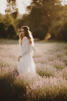 A Lavender Farm Wedding with Kaleb Norman James