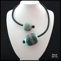 Necklace Green by An & Art, via Flickr