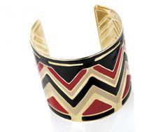 Bracelet manchette motifs aztèque