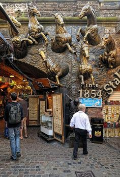 Camden Stables Market, London