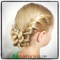French Twisted Updo