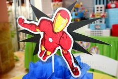 Super Heroes Birthday Party Ideas | Photo 4 of 20 | Catch My Party
