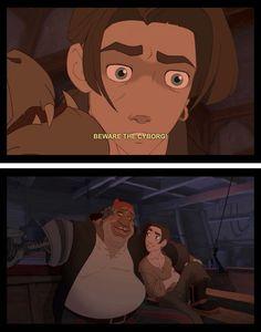 Treasure Planet. Yeah Jim, kinda naive there bud.