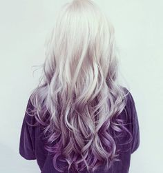 Spring is just around the corner, so don't you think it's time for a hair color change? The wealth of options is endless. This season, purple balayage is in