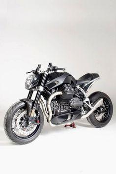 """Moto Guzzi """"Scighera"""" 1200 by Officine Rossopuro"""