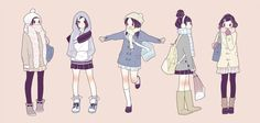 Winter clothes (: