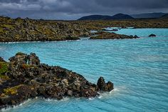 Photograph by Stuart Litoff.  #BlueLagoon in southern #Iceland
