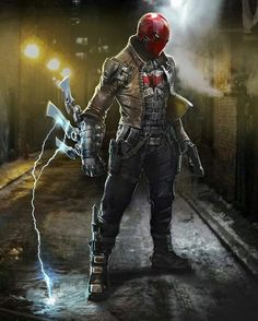 Artist Justin Murray has shared three pieces of concept art for Injustice 2 and along with a new take on Red Hood, we get to see designs for Power Girl and a drastically different take on Zoom. Red Hood Dc, Batman Red Hood, Batgirl, Nightwing, Power Girl, Comic Book Characters, Comic Character, Injustice 2 Red Hood, Harley Quinn