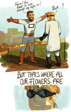 But the flowers...   I loved this series. But it had to be ruined by bees.