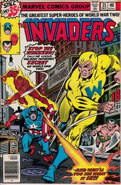 Invaders 35 December 1978 Issue  Marvel Comics  by ViewObscura