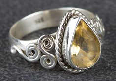 Wedding Gift 925 Sterling Silver Handmade Silver Ring Nickle Free Silver Ring Citrine Gemstone NOTE : 925 Sterling Silver It is made up of 925 Sterling Silver and Citrine Gemstone Citrine Ring, Citrine Gemstone, Moonstone Pendant, Silver Earrings, Silver Jewelry, Chevron Ring, Silver Engagement Rings, Ring Engagement, Anniversary Jewelry