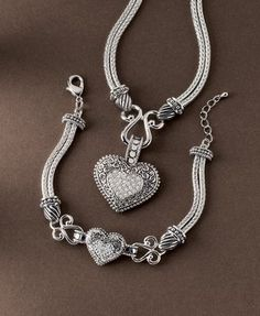Lia Sophia Love Dust Necklace And Bracelet 30l81 Retailed For
