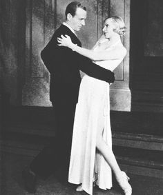 Fred Astaire and Claire Luce in the play Gay Divorce (1932-1934)