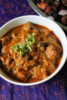 Mutton Masala / Lamb Masala Cooked with Yogurt & Spices - Yummy Tummy Mutton Masala.A spicy curry to go with your indian parathas.A spicy curry to go with your indian parathas. Goat Recipes, Veg Recipes, Spicy Recipes, Curry Recipes, Indian Food Recipes, Asian Recipes, Cooking Recipes, Vegetarian Recipes, Cooking Ham