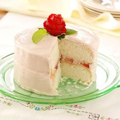 Mom's Favorite White Cake Recipe -I received this recipe as part of a wedding gift. I have made it for a couple of summer gatherings with friends and most recently when my husband requested that I make it for his birthday. —Tricia Bryan, Bolivar, Ohio