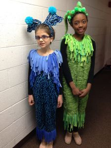 jungle animals Seussical Harrell Theatre 2014