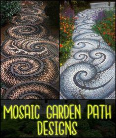 20 Inspiring Mosaic Walkway Design Ideas For Your Backyard