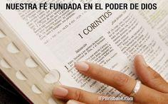 Nuestra+fe+fundada+en+el+poder+de+Dios