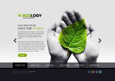 Ecology Organization HTML5 Template 300111055 by Dynamic Template