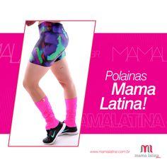 Bateu o frio na hora do treino? Não desanime! Complete seu look fitness com as polainas lindas da #MamaLatina ;) www.mamalatina.com.br #fitness #polainas #online #vendas #compra #moda #look #treino