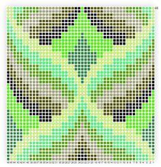 Bargello Pattern #1 - Abbreviated