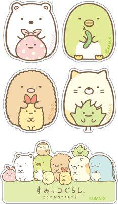 Kawaii Stickers, Anime Stickers, Cute Stickers, Diy Kawaii, Kawaii Chibi, Sweet Couple Cartoon, Kawaii Crush, Sumiko Gurashi, Japanese Drawings