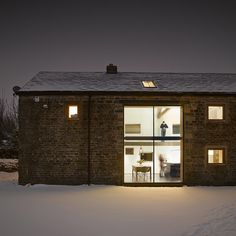 Old Yorkshire barn converted into a modern home by Snook Architects - dezeen