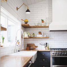 35 Idees Pour Amenager Une Petite Cuisine Home Kitchen Pinterest