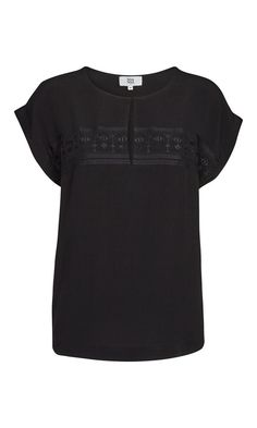 Sleeveless top - Black