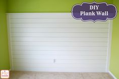 Create your own plank wall!