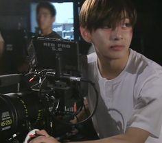 tae behind cameras