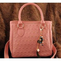 Womens fashion pink leather shoulder bags $98.00 - Out of stock